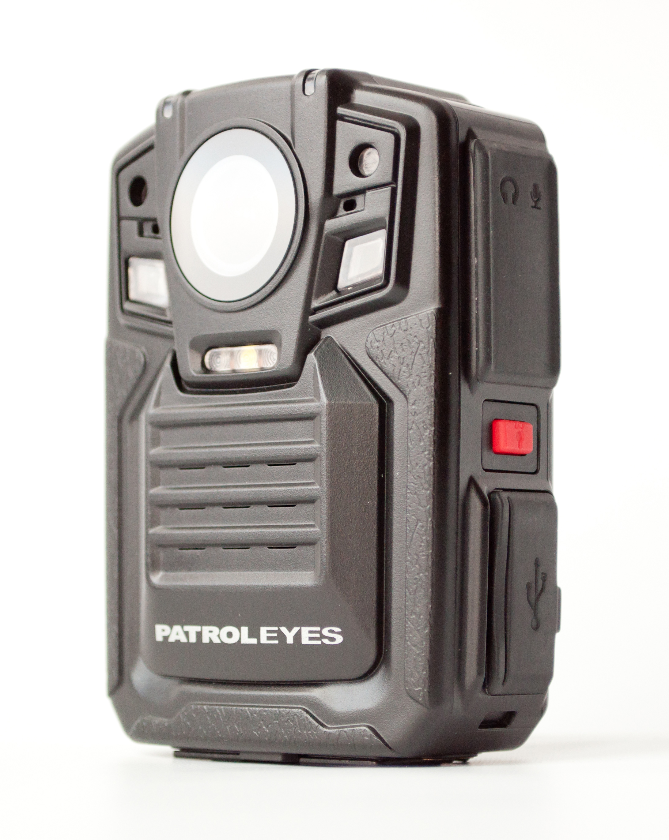 PatrolEyes 1296P HD GPS Auto IR Police Body Camera DV5 2