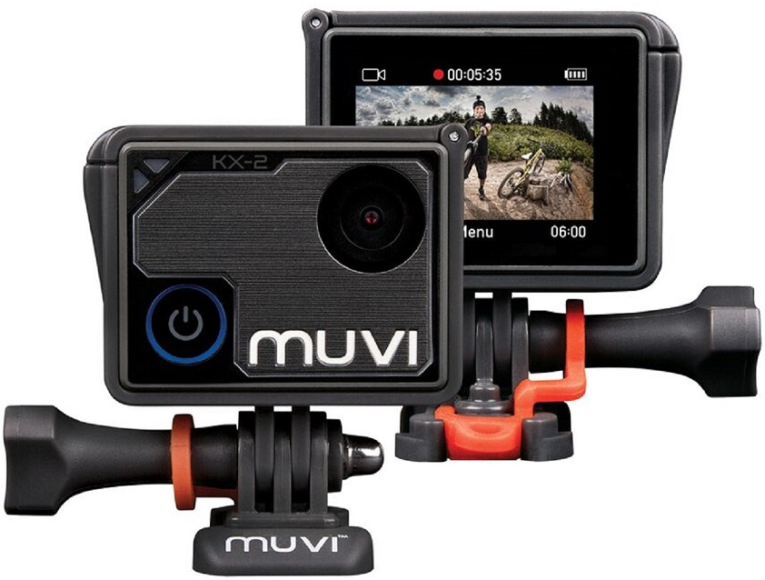 Veho Muvi KX-2 PRO 4K Wi-Fi Handsfree Action Camera