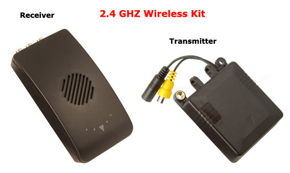 Wireless 2.4GHZ Transmitter & Receiver Kit