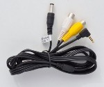 Right Angle 2.5mm Audio Video Cable