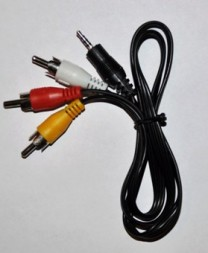 GoPro 2.5mm AV TV-Out Cable