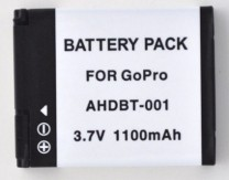 GoPro 2 Aftermarket Rechargeable Battery