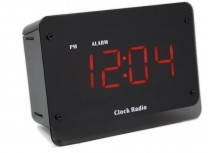 Clock Radio Camera DVR with Night Vision and Built-in WiFi