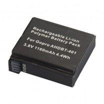 GoPro HD 4 Aftermarket Rechargeable Battery