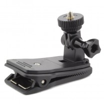 Hat Clip Backpack Mount 360 Degree Rotation