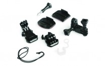 GoPro Grab Bag of Mounts (Flat & Curved)