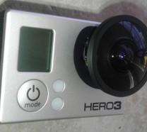 1.4MM Circular Fish Eye Lens for GoPro Hero 3 Panoramic View