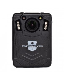 PatrolEyes EDGE 2K GPS Auto IR Police Body Camera