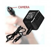 Wall Power Charger DVR + Cord Camera (Motion & Time Stamp)