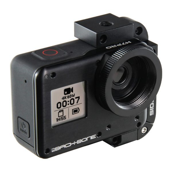 Ribcage Backbone GoPro HERO7 Black Modified Camera