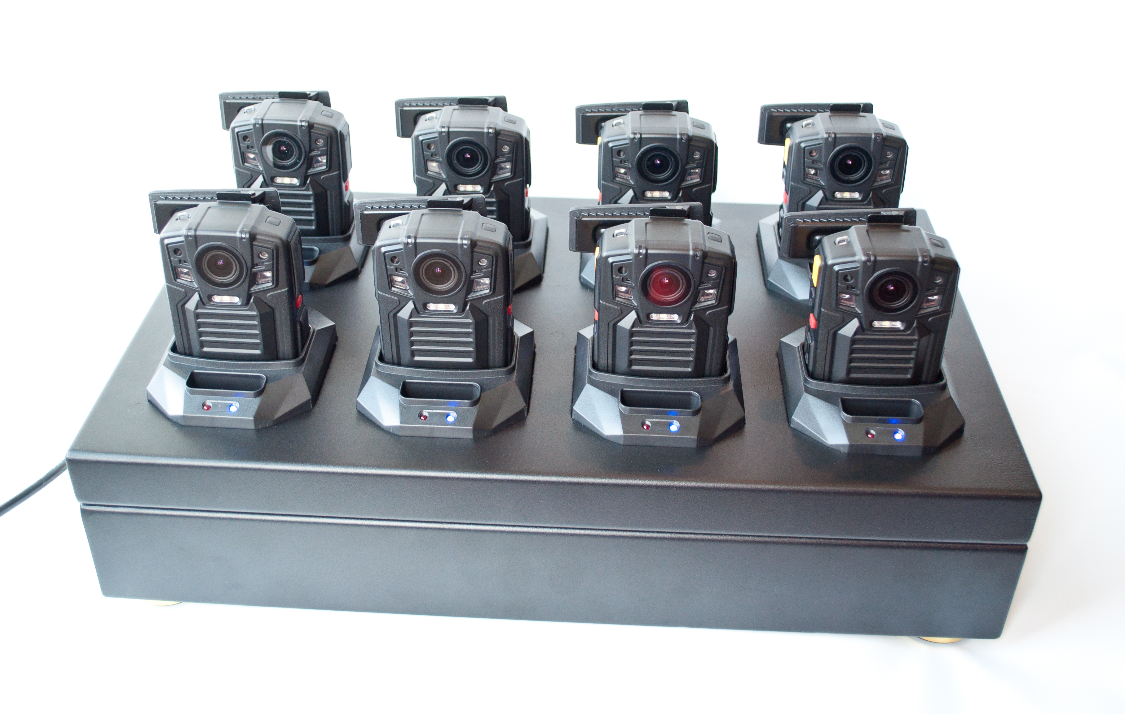 PatrolEyes SC-DV5 Police Data Transfer 8 Camera Docking Station